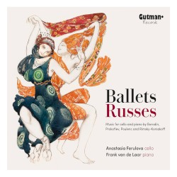 Ballets Russes by Borodin ,   Prokofiev ,   Poulenc ,   Rimsky-Korsakoff ;   Anastasia Feruleva ,   Frank van de Laar